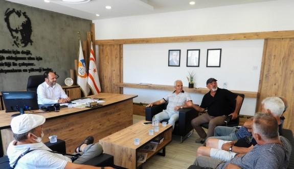 Civisil Spor Kulübü'nden Sadıkoğlu'na nezaket ziyareti