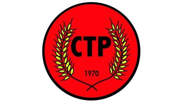 CTP: Sayın Tatar'a tavsiyemiz, CTP ve Kıbrıslı Türklerin 'onuru' ile oynamaya kalkmamasıdır