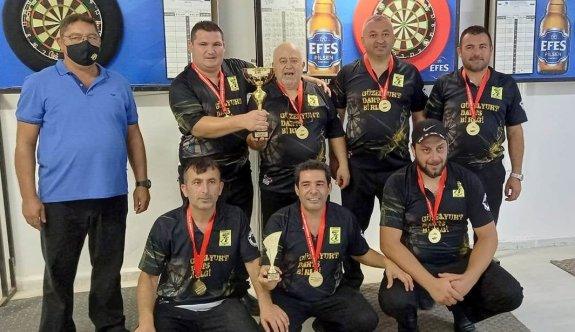 Darts Birinci Ligde şampiyon Güzelyurt