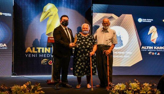 DAÜ Altın Karga Yeni Medya Ödülleri sahiplerini buldu