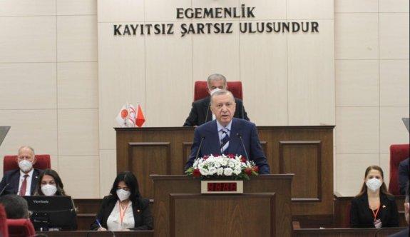 Erdoğan ilk müjdesini Meclis'te açıkladı