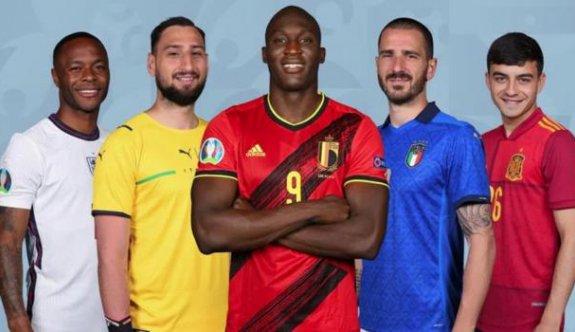 EURO 2020'nin en iyi 11'i belli oldu