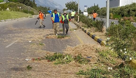 Girne Belediyesi temizlik çalışmalarında hız kesmiyor