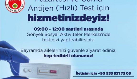 Gönyeli Sosyal Aktivite Merkezi'nde antijen testi yaptırılabilecek