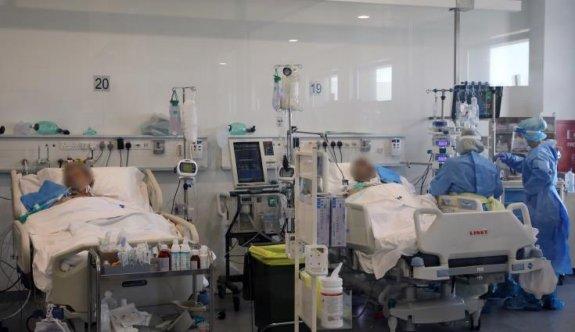 Güney'de entübe olan hasta sayısında rekor