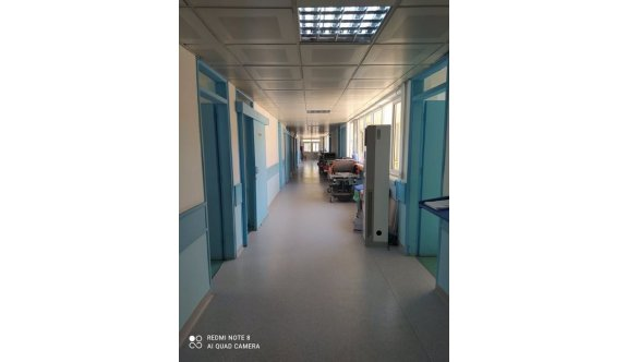 Hemşireler Hastanede ek mesaiye kalmama eyleminde