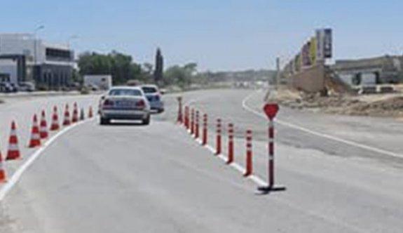İskele - Çayırova güzergahında trafik eski yoldan veriliyor