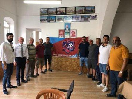 İskele Trabzonspor'da yönetim görev dağılımı yaptı