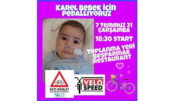 Karel için pedal çevirecekler