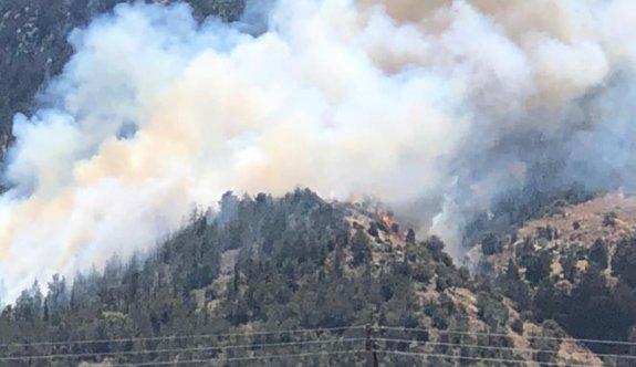 Karşıyaka bölgesinde büyük yangın