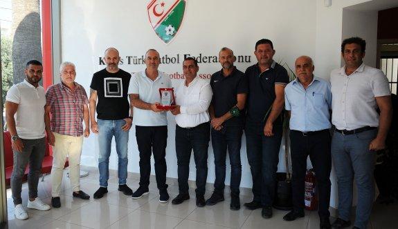 Kulüpler Birliği ile Futbol Federasyonu fikir alış-verişi yaptı