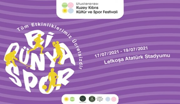 Lefkoşa'da Uluslararası Kuzey Kıbrıs Kültür ve Spor Festivali düzenleniyor