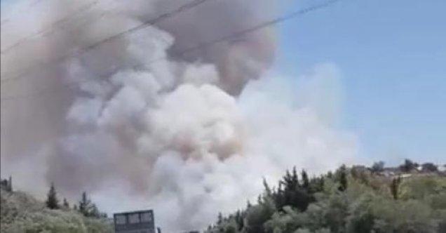 Limasol bölgesinde yine büyük yangın