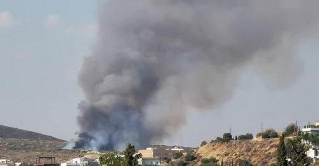 Limasol'da yine yangın