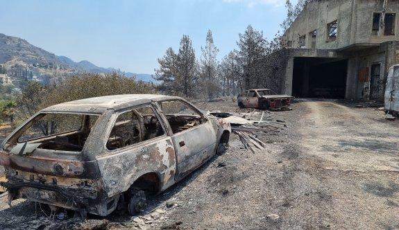 Limasol'daki büyük yangınla ilgili 1 kişi tutuklandı