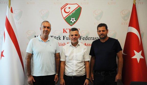 LTTFF Başkanı Ercen'den KTFF'ye ziyaret
