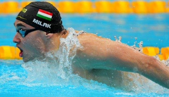 Milak, Phelps'in rekorunu tarihe gömdü