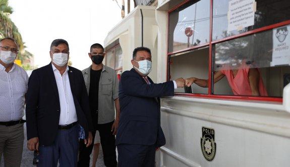 Pile Aydan Karahan Stadı'na su götürme projesi Üsler tarafından engellendi