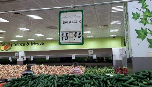 Salatalığın fiyatını görenler şok geçiriyor