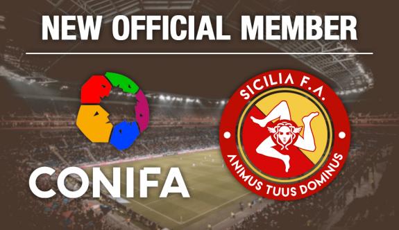 Sicilya, CONIFA'nın yeni üyesi