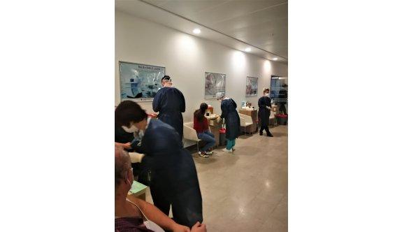 Sinovac aşısı olan YDÜ Hastanesi çalışanlarından sadece biri Covid-19'a yakalandı
