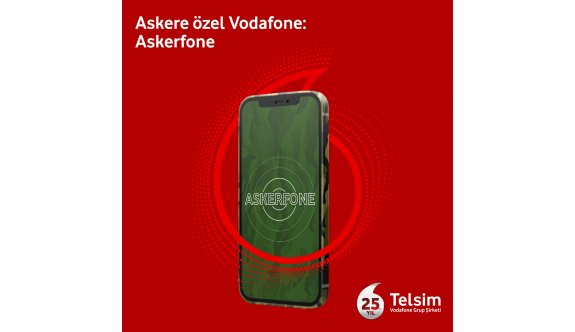 """Telsim'den askere özel faturasız """"Askerfone"""" tarifesi"""