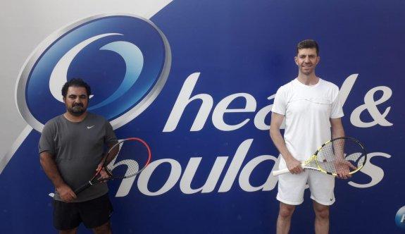 Teniste heyecan finallerde yaşanıyor