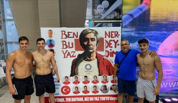 Türkiye'de rekorlara yüzdüler