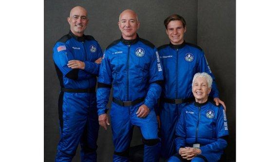 Uzaya giden en yaşlı, en genç ve en zengini birarada