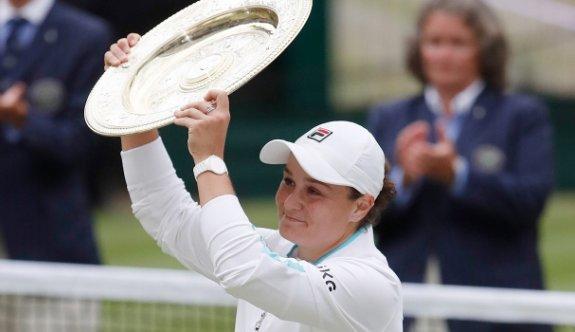 Wimbledon'da şampiyon Ashleigh Barty
