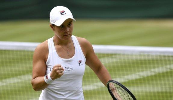 Wimbledon kadınlarda ilk finalist Barty