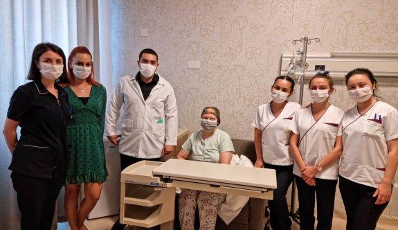 YDÜ Hastanesi'nde ince bağırsaktan yeni mide yapıldı