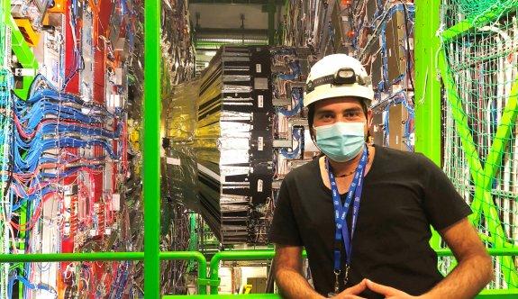 YDÜ Öğretim görevlisi Özşahin, CERN'de ülkemizi başarıyla temsil ediyor