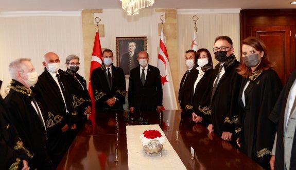 Yüksek Mahkeme Yargıçlığına atanan Usar, Tatar huzurunda yemin etti