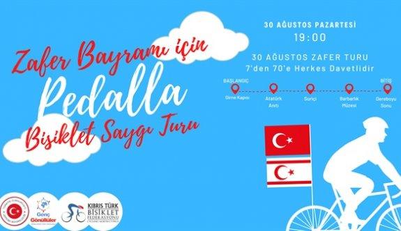 """""""30 Ağustos'ta bisikletle zafer turu"""" etkinliği yapılacak"""