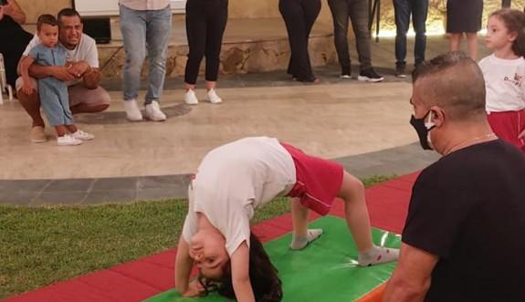 Akdoğan'da cimnastik şöleni gerçekleştirildi