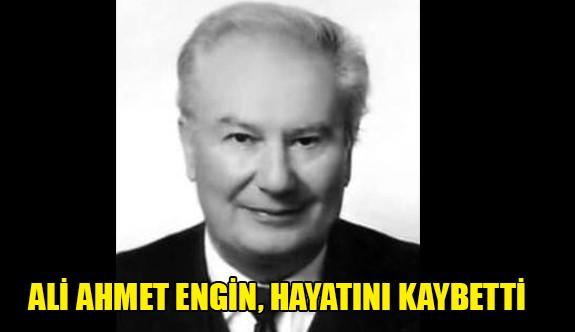 Ali Ahmet Engin sevenlerini üzdü
