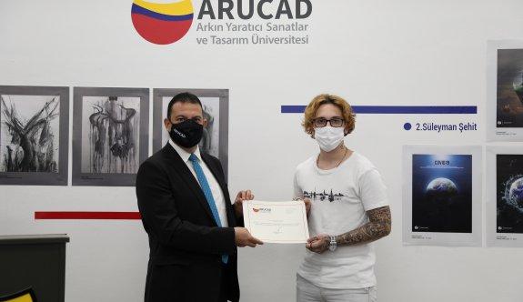 ARUCAD 2. Liseler Arası Tasarım Yarışması  ödül gecesi düzenlendi