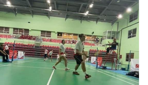 Badmintoncularımızdan bir ilk
