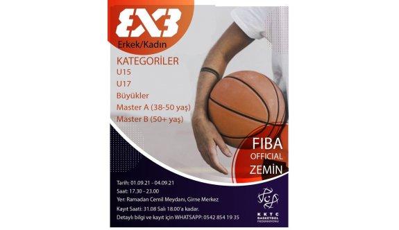 Basketbolda gözler 3x3 turnuvasında