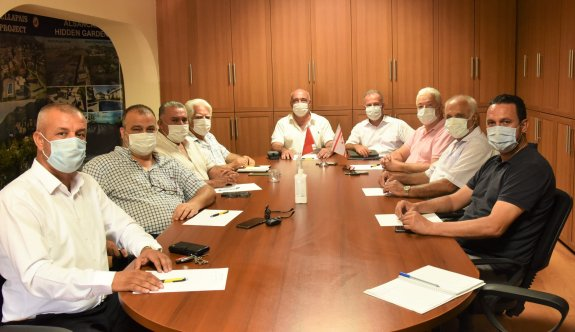 Çağman, Kıbrıs Türk İşverenler Sendikası ile asgari ücreti masaya yatırdı