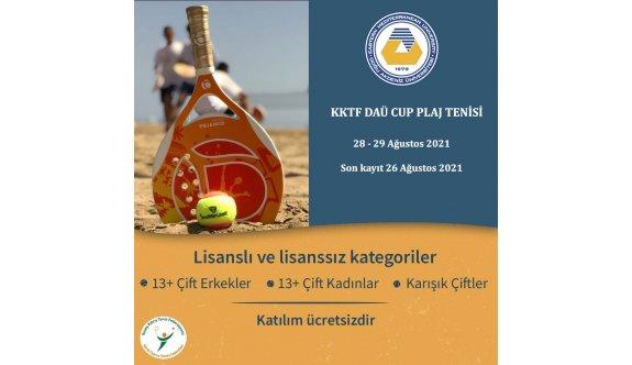 DAÜ Beach Club tenisle şenlenecek