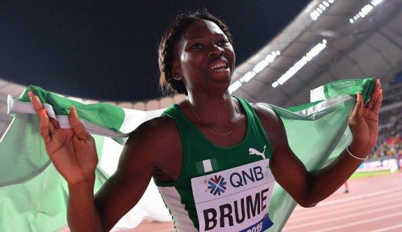 DAÜ'lü Ese Brume, Olimpiyatlarda Bronz madalya kazandı
