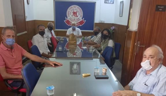 Dr. Fazıl Küçük Vakfı, Türk-Sen'i ziyaret etti