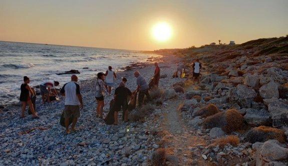 """Esentepe'de """"haydi sahile inelim"""" etkinliği yapıldı"""