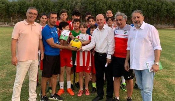 """""""Futbolda Bağımlılıklarla Mücadelede El Ele Projesi"""" başladı"""
