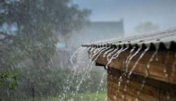 Geçitkale'ye 7 kg yağmur düştü