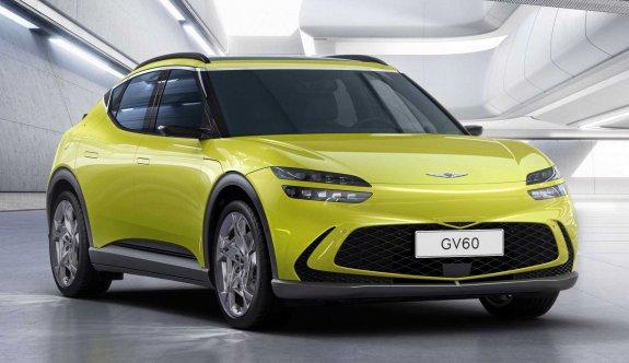 Genesis'in ilk elektrikli SUV'si GV60 tanıtıldı