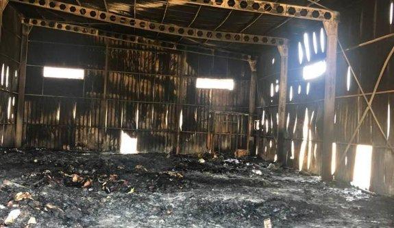 Güvercinlik'teki depo yangınının sebebi kundaklama