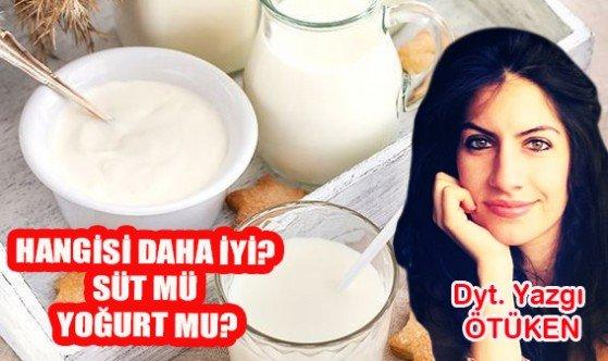 Hangisi daha iyi? Süt mü yoğurt mu?